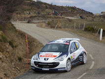 IRC 2011 - SARRAZIN / RENUCCI - Peugeot 207 S2000 Stock Photos