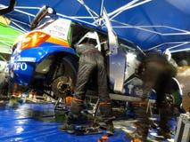 IRC 2011 - Service de SKODA MOTORSPORT Image stock