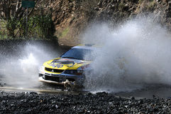 IRC, Cyprus Rally 2012. Paphos, Cyprus  - November 3, 2012: PARASKEVAS RALLY TEAM on the Intercontinental Rally Challenge (IRC) on November 3, 2012 in  Tzelefos Stock Photography