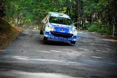 IRC PRIME Yalta Rally 2012 Stock Photo