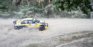 IRC RALLY SIBIU SS2 CRINTI 1 Stock Photo