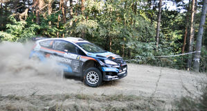 IRC RALLY SIBIU SS2 CRINTI 1 Royalty Free Stock Photography