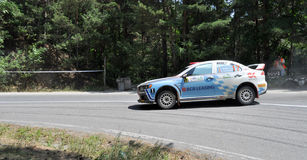 IRC RALLY SIBIU SS9 SANTA MAX Stock Photos
