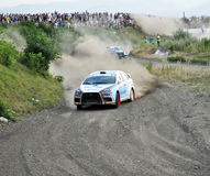 IRC RALLY SIBIU SSS 12  SUPERSPECIAL Royalty Free Stock Photo