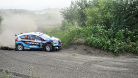 IRC RALLY SIBIU SSS12 SUPERSPECIAL Royalty Free Stock Photography