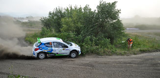 IRC RALLY SIBIU SSS12 SUPERSPECIAL Royalty Free Stock Image