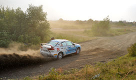 IRC RALLY SIBIU SSS12 SUPERSPECIAL Stock Image