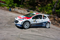 IRC Yalta Prime Rally 2011 Royalty Free Stock Images
