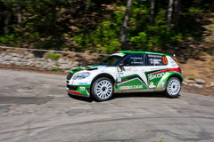 IRC Yalta Prime Rally 2011 Stock Image