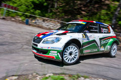 IRC Yalta Prime Rally 2011 Royalty Free Stock Image