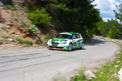 IRC Yalta Prime Rally 2011 Royalty Free Stock Photography