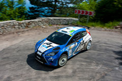IRC Yalta Prime Rally 2011 Stock Photo