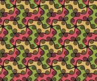 Ircles et remous colorés de  de Ñ Images libres de droits
