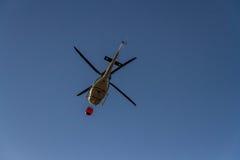 Irefighting helicopter Stock Photo