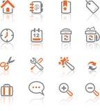 Ireflect fijó 1 - los iconos del Web y del Internet