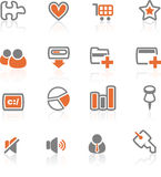 Ireflect set 2 - Web and Internet Icons. A collection of web and application icon for web designers. a ireflect icon set