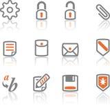 Ireflect set 3 - Web and Internet Icons stock photo