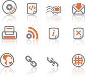 Ireflect set 4 - Web and Internet Icons Royalty Free Stock Image