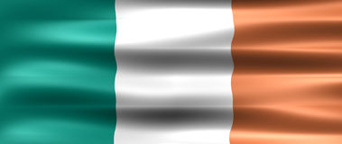 Ireland. Flag - Symbol of a country Stock Photo