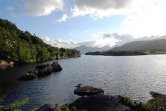 Ireland. Irish hills and lakes, county Kerry Royalty Free Stock Photography