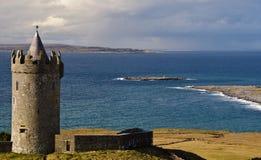 ireland antyczny grodowy zachód irlandzki stary Obrazy Royalty Free