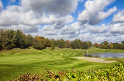 Ireland autumn golf area Royalty Free Stock Photos
