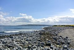 Ireland beach Arran Island Royalty Free Stock Photography