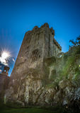 Ireland blarney castle stone kiss stock image