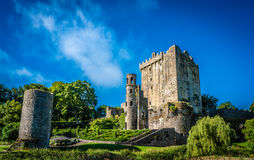 Ireland blarney castle stone kiss Stock Photos