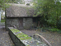 Ireland. Bunratty. Folk Park Royalty Free Stock Photography