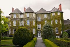 Ireland Butler House home coveres ivy stock image