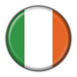 Ireland button flag round shape Stock Image