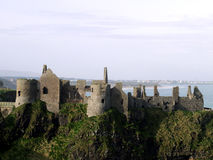 Ireland Castle Ruins Stock Photo
