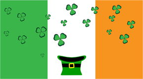 Ireland celebrating St. Patrick`s Day stock video footage