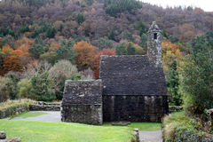 Ireland church. Old Christian church in Ireland Stock Image