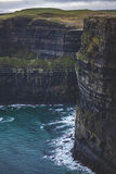Ireland Cliffs Of Moehr royalty free stock image