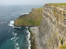 Ireland cliffs of Moher 1 Royalty Free Stock Image