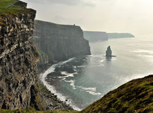Ireland cliffs of Moher 2 Stock Photography