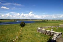 Ireland - Clonmacnoise Stock Photo