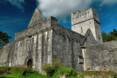 Ireland, Co Kerry, Muckross Abbey, Killarney. Mystic ruin of Muckross Abbey, Killarney, Ireland Stock Photography