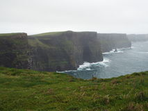 Ireland coastline. Picture of cliffs of Moher in Ireland Stock Photography