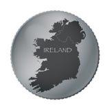 Ireland Coin Stock Photo