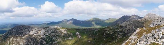 Ireland / Connemara 12 bens. Lush landscape in western ireland, connemara, 12 bens country Royalty Free Stock Photos
