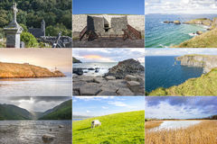 Ireland country collage Royalty Free Stock Photography
