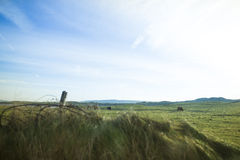 Ireland countryside. Cloudy day in Ireland Royalty Free Stock Photos