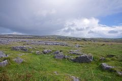 The Burren Stock Photo