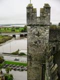 ireland Den Bunratty slotten & Folk parkerar Arkivbilder