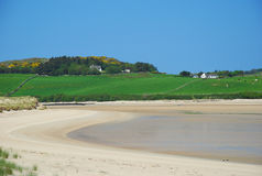 Donegal, Ireland. Ards forest park beach. Ards forest park. Sand beach on Donegal coast, Ireland royalty free stock image