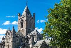 Ireland. Dublin, the Christchurch cathedral Royalty Free Stock Photos