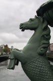 Ireland. Dublin. River Liffey Stock Photos